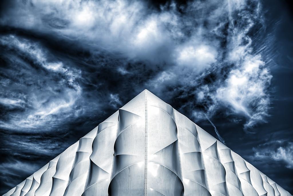 A Pyramid Scene