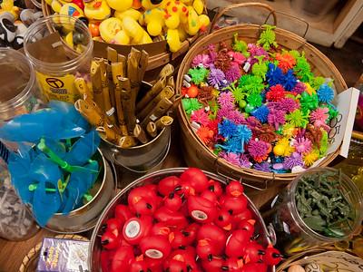 Souveniers at the Joyce general store, Joyce, Washington.
