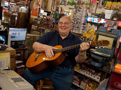 Leonard Pierce, Owner, Joyce General Store, Joyce, Washington, 2011.