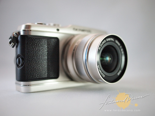 The Olympus E-P3 with the 12mm lens