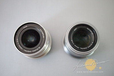 Olympus M.Zuiko 12mm vs 45mm