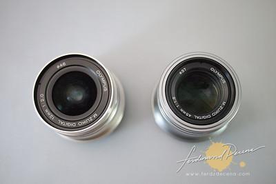 Olympus M.Zuiko 12mm vs 45mm