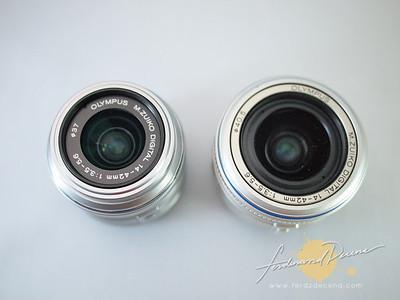 Olympus M.Zuiko  Old 14-42mm vs 14-42mm Ver II