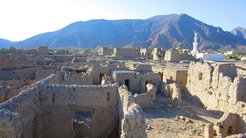 Izki old town