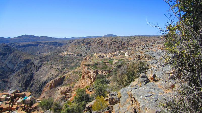 A' Sheragah and Al Aynon Saiq Plateau