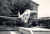 THE PANTHER AND ME<br /> Town Square, Beeville, Texas<br /> <br /> This is the earliest photo of me with an airplane, in front of a Grumman F9F Panther static display in Beeville, TX. This is still one of my favorite jets to this day.
