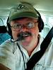 SELF-PORTRAIT<br /> And here I am all loaded up and ready to go. Of course, I wasn't going to let such an opportunity go by without catching myself in the act. I didn't do that on the T-34 flight, dang it!