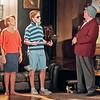 Mark Maynard | for The Herald Bulletin<br /> Chelsea (Wendy Carpenter) rolls her eyes as Billy (Tyler McCorkle) introduces himself to her father (Bob Green).