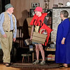 Mark Maynard   for The Herald Bulletin<br /> Norman ( Bob Green) and Billy Ray, Jr. (Tyler McCorkle) are prepared to head out for a day of fishing, as Ethel (Susan Hill) sees them off.