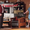 """Mark Maynard   for The Herald Bulletin<br /> Norman Thayer, Jr. (Bob Green) has a discussion about literature with Billy Ray, Jr. ( Tyler McCorkle), the son of his daughter Chelsea's boyfriend, in """"On Golden Pond"""" at The Commons Theatre."""