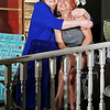 """Mark Maynard   for The Herald Bulletin<br /> In The Commons Theatre's presentation of """"On Golden Pond,"""" Ethel Thayer (Susan HIll) embraces her daughter, Chelsea Thayer Wayne (Wendy Carpenter), when she learns that Chelsea has gotten married."""