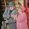 "Mark Maynard | for The Herald Bulletin<br /> Ethel and Norman (Bob Green and Susan Hill) display their deep affection for each other in The Commons Theatre's production of ""On Golden Pond."""