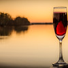 Sparkling Red Sunset