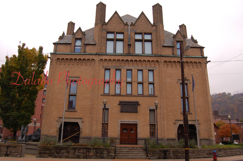 Johnstown Library- Also home to the Johnstown Flood Museum. Built in 1891 with donations from Andrew Carnegie.