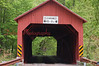 Creasyville Covered Bridge- Built in 1881 at a price of $301.25 at a length of 44.5 ft.