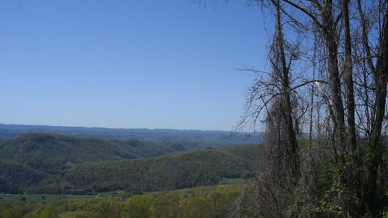 Next day, start the drive through the Cumberland Gap.