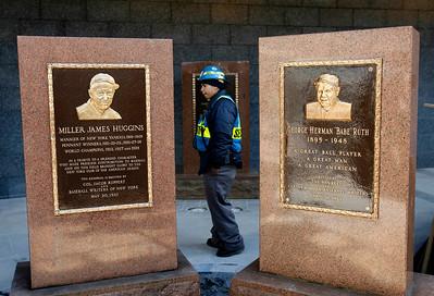 Babe Ruth Monument Yankees