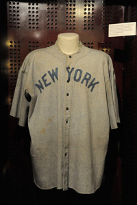 NATIONAL BASEBALL HALL OF FAME BABE RUTH JERSEY