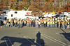 165 Linemen drove 135 trucks from Punta Gorda Florida 1,220 miles over two days to get to Paramus NJ in response to out power outages.