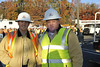James Esch [L] and Tom Esch, GM of OnPower Energy in the Staging area in Paramus NJ