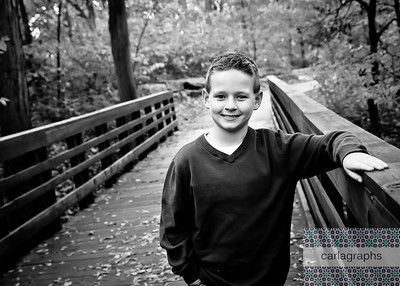 Bennett on Bridge Longer bw (1 of 1)