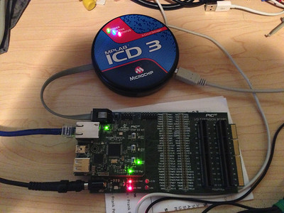 Debugging an embedded micro controller.