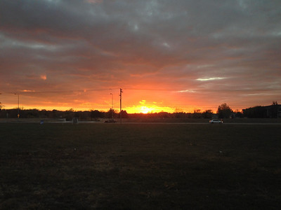 Nice sunset.