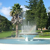 The John Park Memorial Fountain in Jellicoe Park.