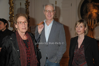 Maryann Rohrlich, Guy Trebay, Stefanie Rinza photo by Rob Rich © 2009 robwayne1@aol.com 516-676-3939