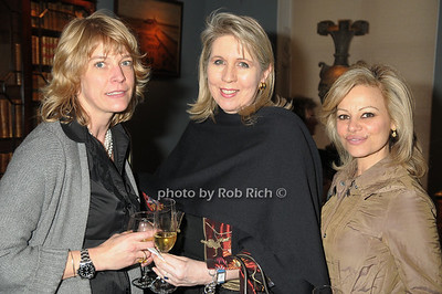 Nina Barker, Muffy Cunningham, Lisabeth Bastone photo by Rob Rich © 2009 robwayne1@aol.com 516-676-3939
