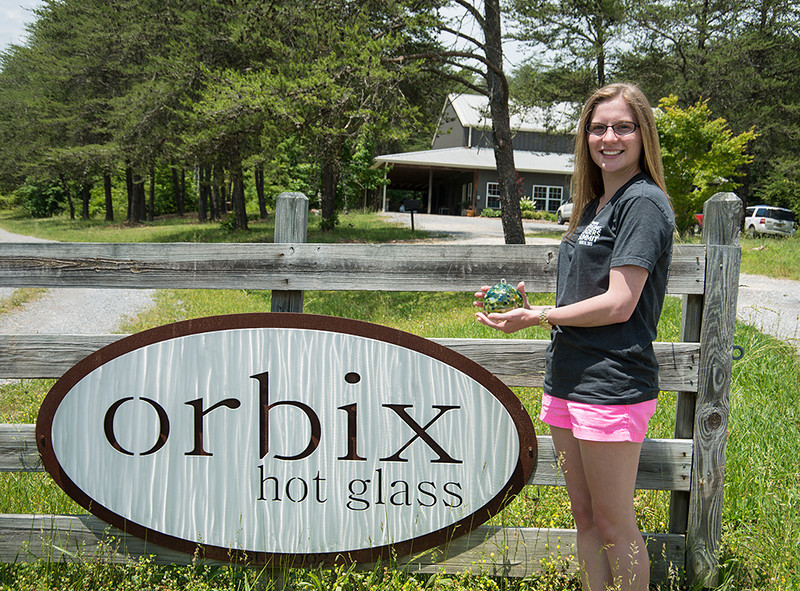 """Orbix is located on the Canyon Rim Road in Little River Canyon National Preserve near Fort Payne, AL.<br /> <br />  <a href=""""http://www.orbixhotglass.com"""">http://www.orbixhotglass.com</a>"""
