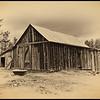 Knapp Barn 1 back view, antique
