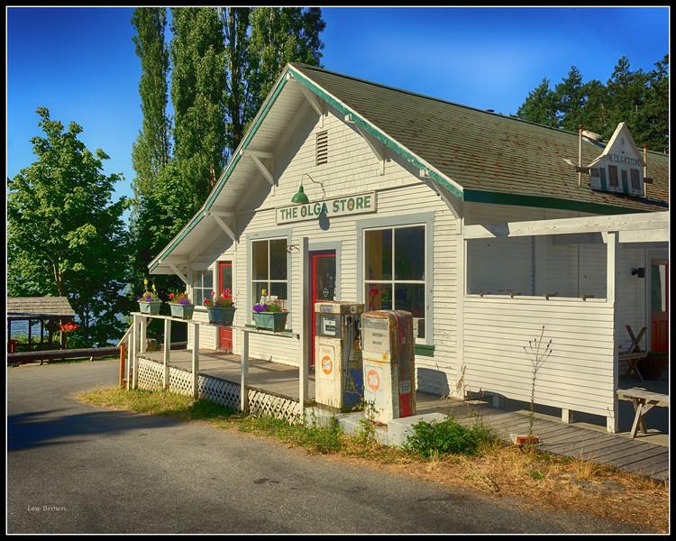 Olga Store.  No longer open.