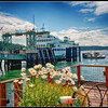 Ferry arriving at Orcas Island