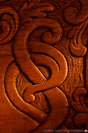 Rocking Chair Detail Light Painting 1