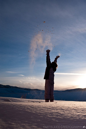 Throwing Snow