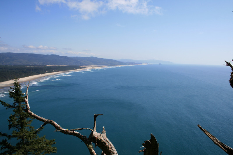 Some of the views from the Cape Lookout Trail.  Breath taking scenery.