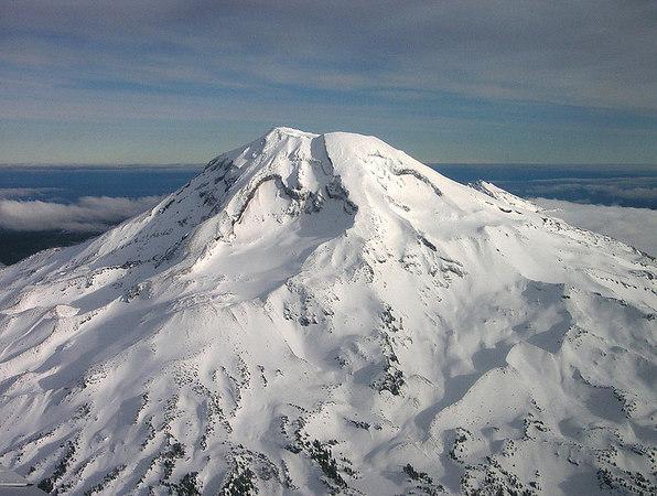 Oregon Cascades flight with Scott, January 2005