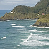 Heceta Light at Heceta Head and Lightkeepers House
