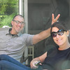Rob learned this from his father-in-law, Dale!!......we're a goofy family.
