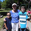 Nolie, Grammie & Evrett. I think the kids might have been tired of posing for pictures, but it's always a good thing to have.