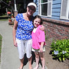 Grammie & Gracie Wacie....She's getting so tall and she's only 8.