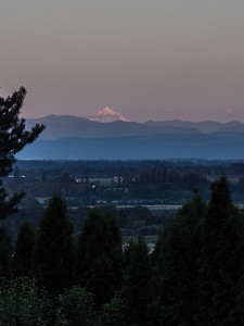 The Willamette Valley and Mt. Jefferson from Dundee, Oregon.