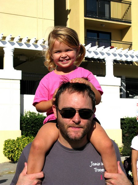 Ella Raine Johnson and Dad
