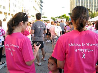Orlando Breast Cancer Walk 10-23-10