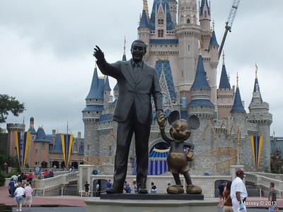 Walt Disney Cinderella's Castle Magic Kingdom 24-09-2013 17-21-22