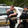 ORRINGTON, Maine -- 06/06/2017 - Penobscot County Sheriff gear up go to make their way to the home where a man reportedly barricaded himself inside his home near the intersection of Center Drive and Johnson Mill Road in Orrington Tuesday. Penobscot County Sheriff and Brewer police were also at the scene. Ashley L. Conti | BDN