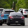 ORRINGTON, Maine -- 06/06/2017 - Maine State Police, Penobscot County Sheriff, and Brewer police work were on scene outside a house near the intersection of Johnson Mill Road and Center Drive in Orrington where a man reportedly barricaded himself inside his house. Ashley L. Conti | BDN