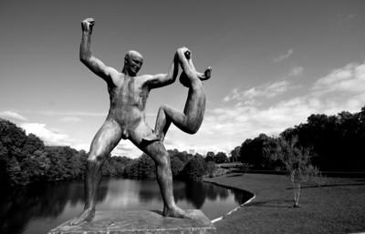 Sculpture at Vigelands Parken