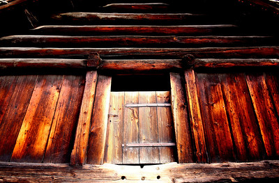 Traditional Norwegian house detail at the Folk Museum, Bygdoy